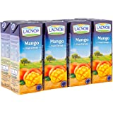 Lacnor Mango Fruit Drink, 8 x 180 ml