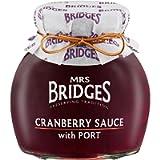 Mrs Bridges Cranberry Sauce with Port 250g
