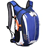 LOCAL LION Fahrradrucksack Trinkrucksack Reiserucksack Sportrucksack Tagesrucksack Alltags Daypacks Backpack Outdoor Ultraleicht Unisex 18L