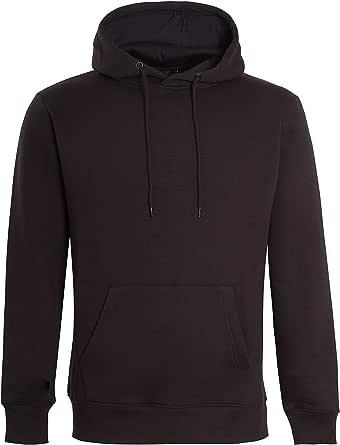 IMPORIO 11 Men's Plain Pullover Hoodies Men Without Zip Hooded Sweat Hoodies Top Jumper Hoodies UK Size Small - 5XL