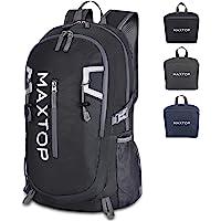 MAXTOP 40L Ultra Lightweight Packable Backpack Foldable Rucksack Water Resistent For Men Women Kids Outdoor Camping…