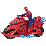 Hasbro Marvel E3368EU4 SPD Spiderman with Cycle, Multicolour