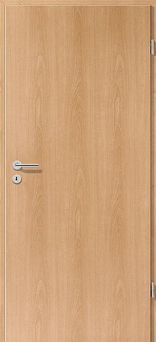 Baumarkt türen  CPL Zimmertür Tür Türen Innentüren Buche RSP DIN links / 8-14,5 cm ...