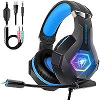 Beexcellent Cuffie Gaming per PS4 Xbox One, Multi-Platform Riduzione del Rumore Cuffie con Microfono Confortevole Stereo…