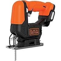 BLACK+DECKER BDCJS12N-XJ Scie sauteuse sans fil - Profondeur de coupe : 16 mm - Bois : 52mm - Métal : 5mm - Aluminium…