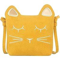 ORPAPA Mädchen Umhängetasche Kinder Süße Katze Handtaschen Prinzessin Umhängetasche Massenger Taschen Kleine Geldbörse…