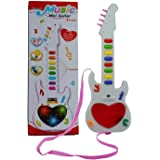 New Pinch Musical Mini Guitar Instrument with 3D Lighting & Sound Learning Toy for Kids