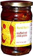 Rural Roots Red Chilli Stuffed Pickle (250gm)