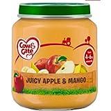 6 x 125g Jar Juicy Apple Mango 4 6 Mth Baby Food Dessert Tasty Healthy