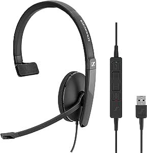 Sennheiser Sc 130 Headset Usb Mono 508314 Elektronik