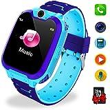 Smartwatch per bambini IP67 impermeabile - Smart Watch LBS Tracker Ragazze e Ragazzi con Tracker Posiziona Fotocamera…