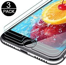 SUFUS [3 Stück] Panzerglas iPhone 6/6S, Panzerglasfolie Displayschutzfolie für iPhone 6/6S/7/8, Anti-Öl & Fingerabdruck, 9H Härtegrad, 3D Touch Kompatibe(4,7 Zoll)