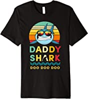 Daddy Shark T-Shirt Gift for Dad