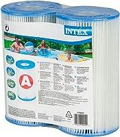 Intex 29002 Cartuccia Filtro, Grigio, 21.59x20.32x10.8 cm, 2 unità