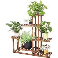 Set di 6 17X12.5cm in bambù Vasi da Fiori Giardino Arredamento Vaso Di Fiori Vaso da fiori