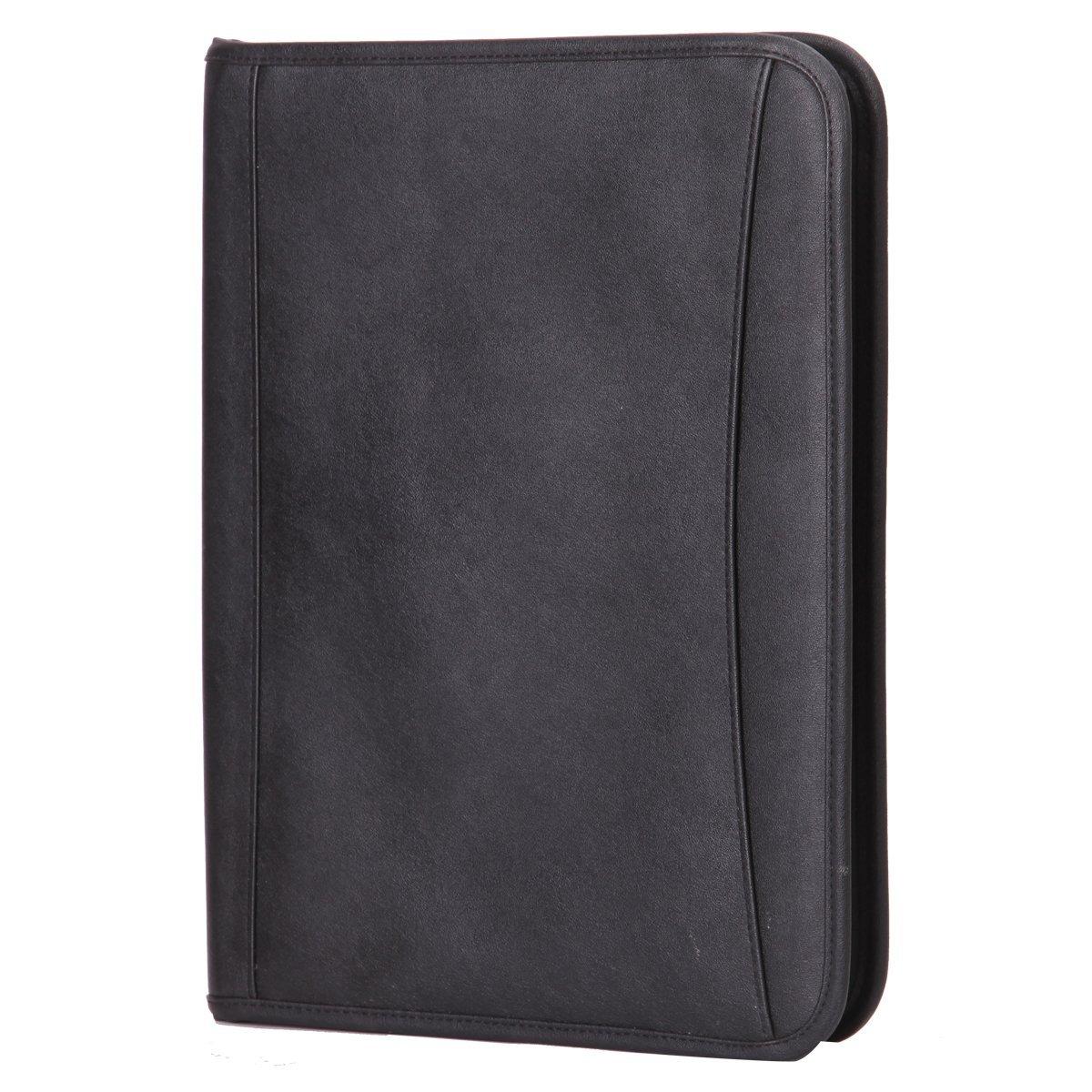 c649b2df39b8 Leathario-Portfolio en cuir PU, porte document, portfolio cuir pour bureau,  agenda