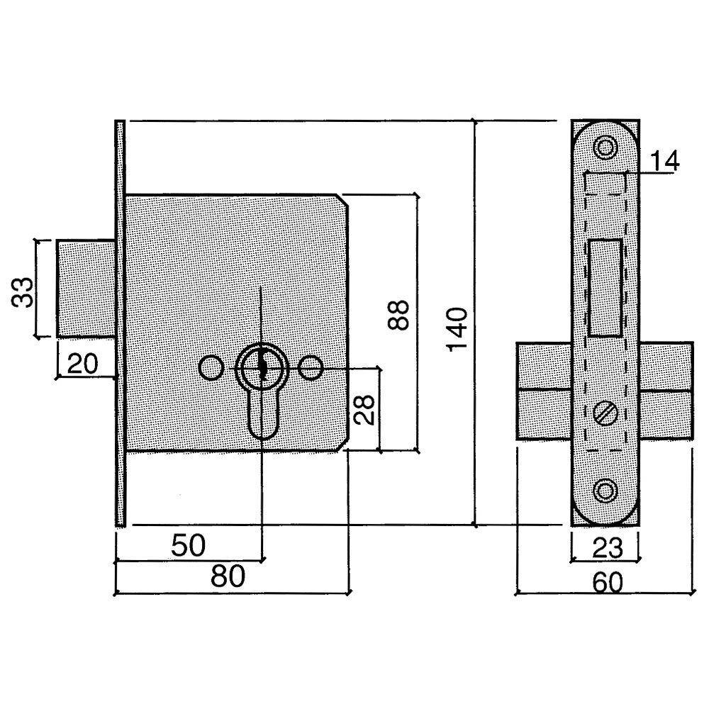 25 X 26 Cm Wengue//Basalto//Arena SMART-T-HAUS Cesta//Cubo con Tapa Basculante