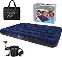 Comfort Quest Airbed Inflatable Blow Up Camping Mattress Guest Air Bed