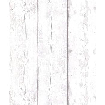 Arthouse Grey Washed Wood Wallpaper 694701 Wood Panel Cladding