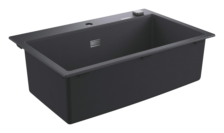 GROHE K700 Evier Composite Noir Granite 31652AP0 (Import Allemagne)