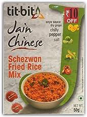 Tit-Bit Jain Chinese Schezwan Fried Rice Mix - 50gms (Pack of 5)