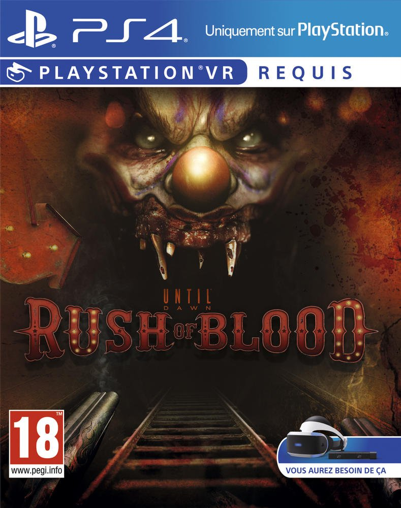 Until Dawn: Rush Of Blood – Playstation VR