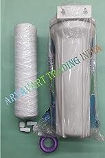 "Ro Water Purifier 10"" Pre-Filter Housing, 1 pcs Wound Filter, 2 Elbow Connector, 1 pcs Teflon Tape."