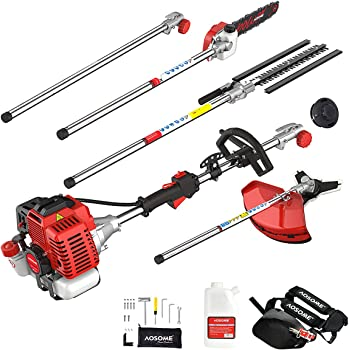 Garden Power Tools Careful 2019 New High Quality Petrol Brush Cutter Grass Cutter 2 In1 With 52cc Petrol Engine Multi Brush Trimmer Strimmer Tree Cutter Grass Trimmer
