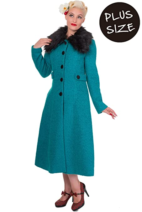 1930s Style Coats Banned Apparel Simple Game Coat £84.95 AT vintagedancer.com