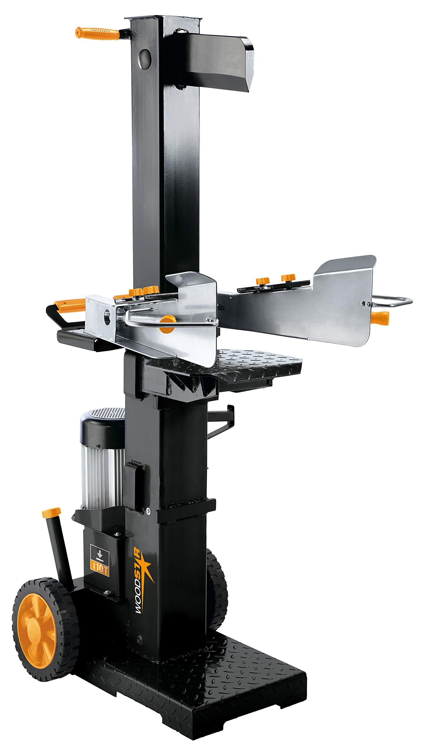 Scheppach Hydraulik Holzspalter LV10 (99510), Senkrechtspalter, 400 Volt/3300 Watt