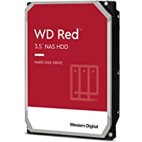 WD Red interne NAS-Festplatte 4 TB (3,5 Zoll, NAS Festplatte, 5400 U/min, SATA 6 Gbit/s, NASware-Technologie, 256 MB…