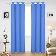 Cloth Fusion Valance Blackout Curtains Set of 2 Peices- with 2 Tie Backs