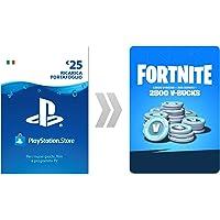 PSN Credito per Fortnite 2800 V-Bucks | Codice download per PS4 - Account italiano