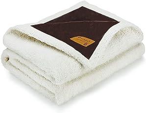 Pro Goleem Weiche Flauschige Hundedecke aus Fleece, Luxus für Hund und Katze Sofa Decken Matte