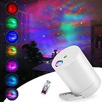 CAIYUE Projecteur Ciel Etoile, Ocean Wave Galaxy Light avec télécommande, nébuleuse pour Chambre d'enfants avec Vitesse…