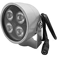 JCHENG 4leds Haute Puissance CCTV IR Vision Nocturne Infrarouge Illuminateur