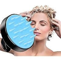 Ealicere Massage tête Shampoo La brosse en silicone Le masseur du cuir chevelu, Brosse de Douche pour le Corps à Laver…