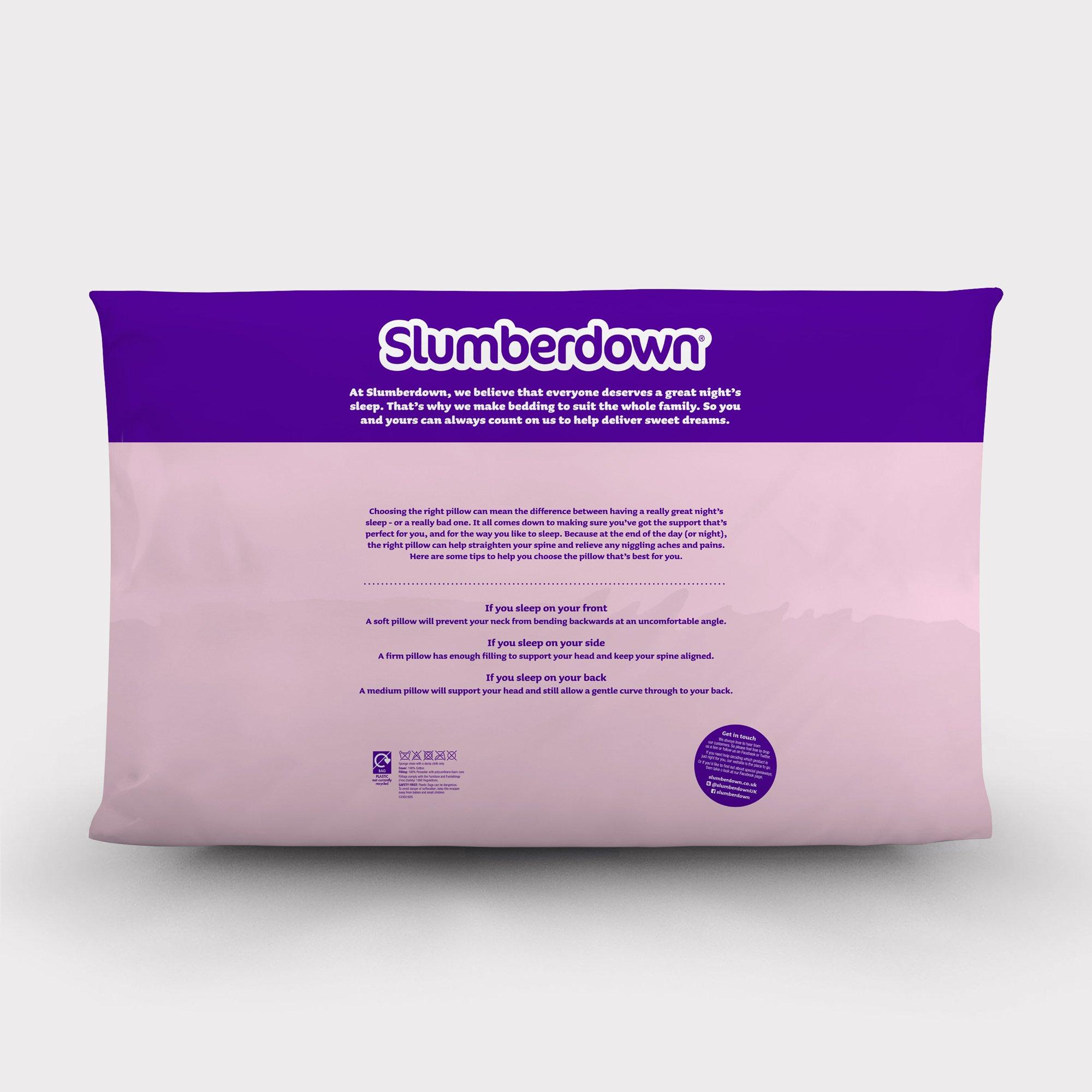 Anti Snore Pillow Slumberdown