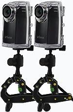 Brinno BCC2002 2-Pack Time-Lapse Camera Bundle (Black)