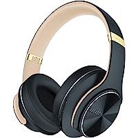 DOQAUS Bluetooth Kopfhörer Over Ear, [Bis zu 52 Std] Kabellose Kopfhörer mit 3 EQ-Modi, HiFi Stereo Faltbare Headset mit…
