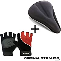 Strauss Bicycle Saddle Seat Cover,Black