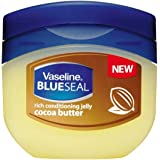 Vaseline BlueSeal Rich Conditioning Jelly Cocoa Butter 100 mL (Imported)