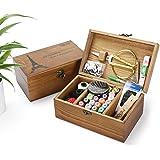 Holzsammlung Kit de Couture, Plus de 110 Fournitures de Couture de Qualité Supérieure, Set de Couture Accessoires de Couture