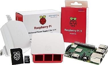 UCreate Raspberry Pi 3 Model B+ Desktop Starter Kit (16 GB, weiß)