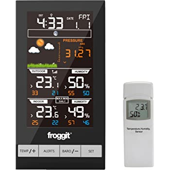 froggit wh2800 station m t o radio pilot e cran couleur sports et loisirs. Black Bedroom Furniture Sets. Home Design Ideas