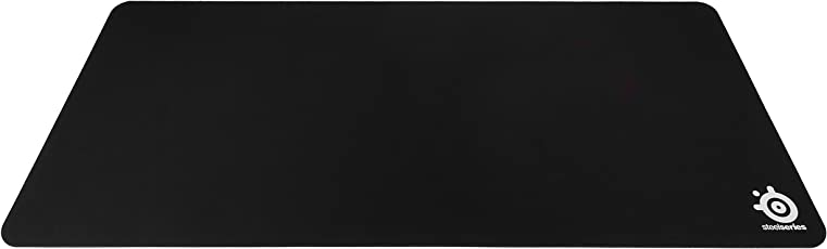SteelSeries QcK Gaming Mouse Pad with Rubber Base (900mm x 400mm, Black)
