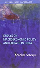 Essays on Macroeconomic Policy and Growth in India