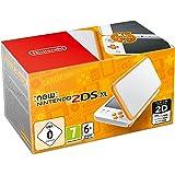 Nintendo 2DS XL Weiß + Orange