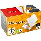 New Nintendo 2DS XL Weiß + Orange [Edizione: Germania]