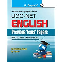 NTA-UGC-NET/JRF: English (Paper I & Paper II) Previous Years' Papers (Solved) (Previous Papers Solved)